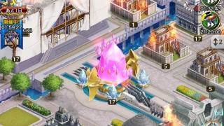クリユニ シールドが剥がれてて城を焼かれるの図